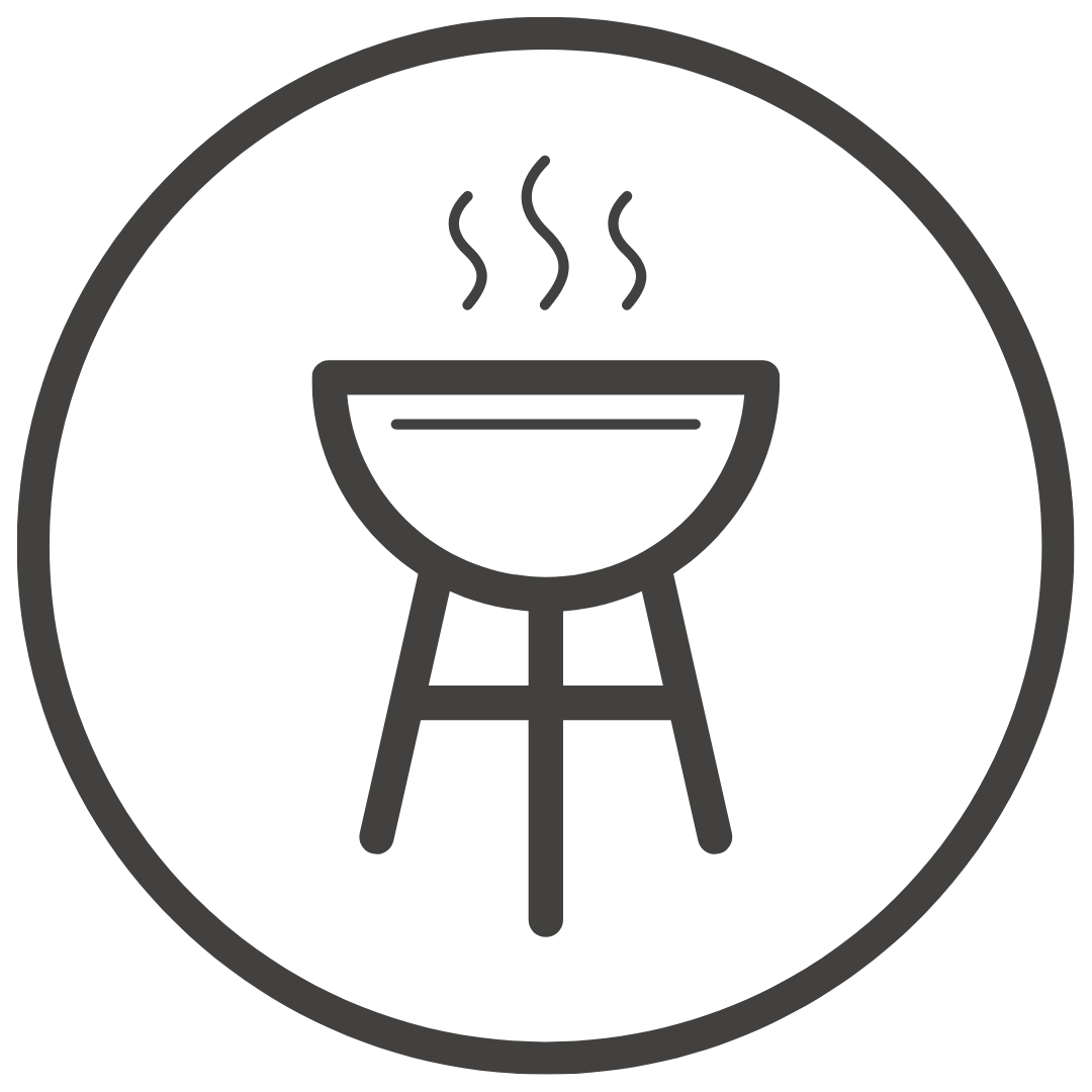 Coin barbecue