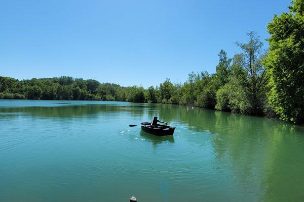 Tour en barque à La Réserve